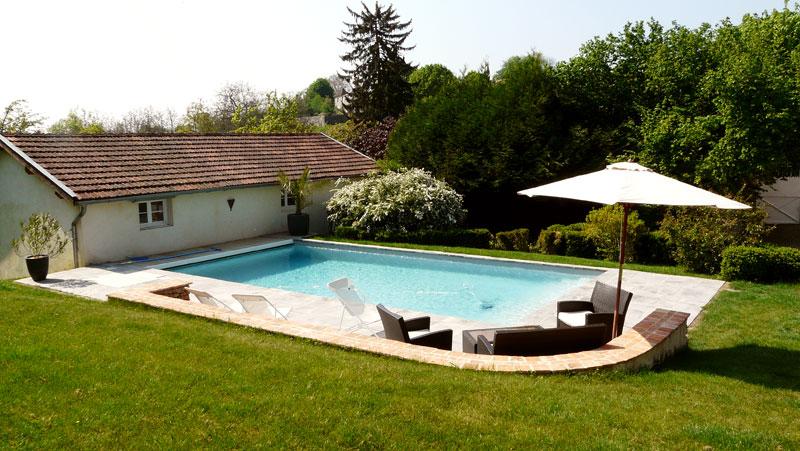 La cadole maison et jardin un havre de paix for Maison jardin piscine